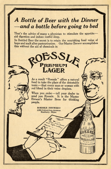 Roessle Lager, Warshaw Collection, NMAH
